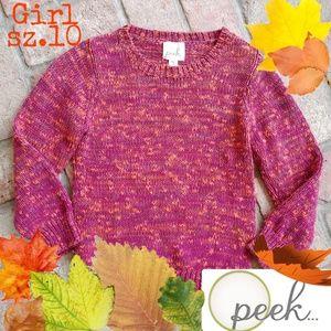 Beautiful Fall colored PEEK Girls sz.10 XL